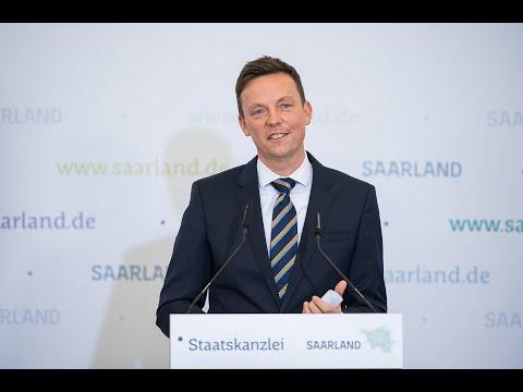 Ministerpräsident Tobias Hans zur Ansiedlung von SVOLT im Saarland