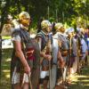 Römer in Mainzweiler: Legio XIIII Gemina baut historische Römerstraße