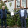 Innenminister Bouillon und Bexbachs Bürgermeister Prech unterzeichnen Sicherheitspartnerschaft