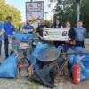 Umwelt von 180 Kilo Müll befreit: Freie Wähler Neunkirchen beim World Cleanup Day